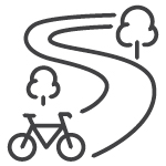 Velocity outdoor routes icon